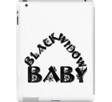 BLACK WIDOW BABY 2 iPad Case/Skin