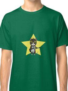 Rock-Music Cat Classic T-Shirt