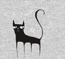A Black Cat Kids Clothes