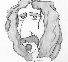 Frank Zappa by TheKingLobotomy