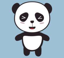 Kawaii Panda Bear Kids Tee
