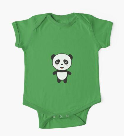 Kawaii Panda Bear One Piece - Short Sleeve