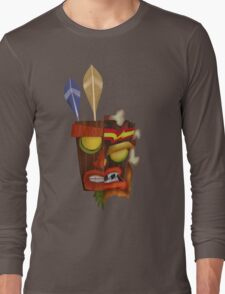 Aku Aku & Uka Uka 50/50 Long Sleeve T-Shirt