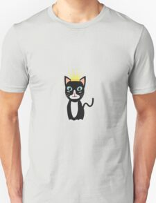 Cat with Crown   Unisex T-Shirt