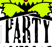 Party animal Sticker