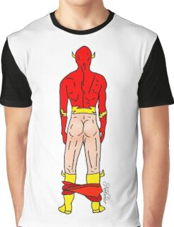 Flash Butt (light) Graphic T-Shirt