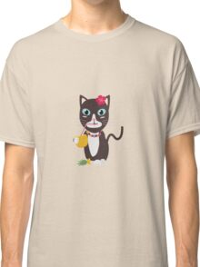 Hawaii cat with pineapple   Classic T-Shirt
