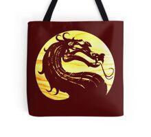 Mortal Kombat Dragon Tote Bag