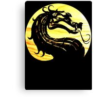 Mortal Kombat Dragon Canvas Print