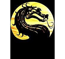 Mortal Kombat Dragon Photographic Print