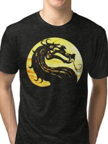 Mortal Kombat Dragon Tri-blend T-Shirt