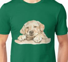 Golden Labrador Puppy  Unisex T-Shirt