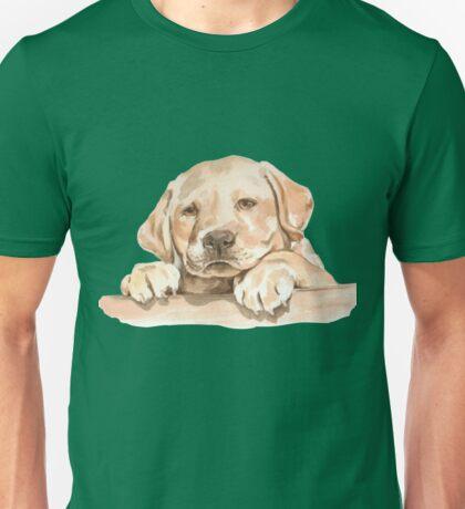 Golden Labrador Puppy  Unisex T-Shirt