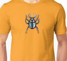 Carabidae: Pincers Poised, Eyes Gleaming (TRANSPARENT VERSION) Unisex T-Shirt