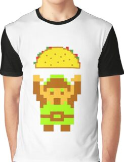 Link and a taco Graphic T-Shirt