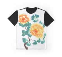 Peonies, painted in gouache. Graphic T-Shirt
