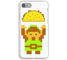 Link and a taco iPhone Case/Skin