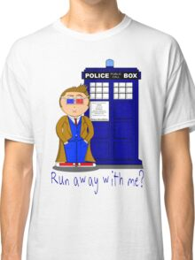 Run Away With Me? Doctor Who Classic T-Shirt