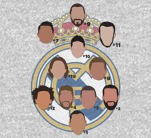 Real Madrid Full Squad (PRICE FLEXIBLE CHECK DESCRIPTION) One Piece - Short Sleeve