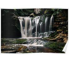 Elakala Falls - West Virginia  Poster