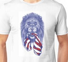 Lion Protects America Unisex T-Shirt