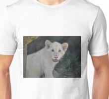 White lion cub Unisex T-Shirt