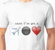 5 Seconds of Summer - Jet Black Heart Unisex T-Shirt