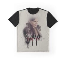 Long Live The Evil Queen by IssorrisiGraphic Graphic T-Shirt