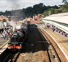 Princess Elizabeth at Exeter St Davids  by Rob Hawkins