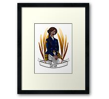 Captain Framed Print