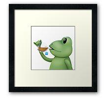This Tea Though... Framed Print