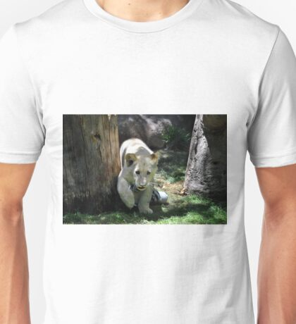 White lion cub Unisex T-Shirt