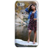 Young Hispanic Woman iPhone Case/Skin