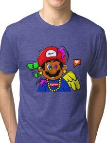 supreme mario Tri-blend T-Shirt
