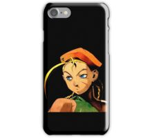 Cammy  streetfighter chick iPhone Case/Skin