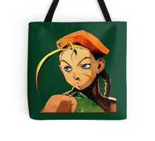 Cammy  streetfighter chick Tote Bag