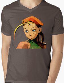 Cammy  streetfighter chick Mens V-Neck T-Shirt