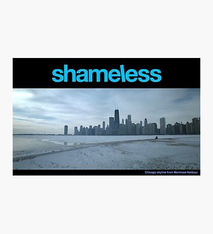 Shameless - Chicago skyline Photographic Print