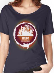 Aruba Sunset  Women's Relaxed Fit T-Shirt