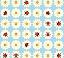 Ladybugs pattern by Gaspar Avila