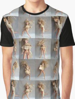 Barbie Dolls Print. Miniature Art ® Graphic T-Shirt