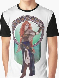 Boudicca (Badass Women of History Collection) Graphic T-Shirt