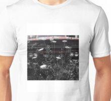 Vintage Truck in Wildflowers Unisex T-Shirt