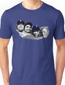 Dodgers Mt. Rushmore Unisex T-Shirt