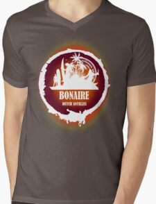 Bonaire Sunset Mens V-Neck T-Shirt