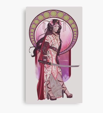 Amaterasu (Badass Women of Mythology Collection) Canvas Print