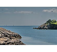 Looking Seaward Photographic Print