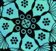 Ocean Mandala Sticker