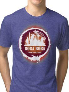 Bora Bora Sunset Tri-blend T-Shirt