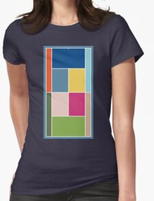 Court Pantone 2017 Womens Fitted T-Shirt